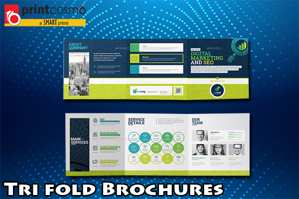 Trifold brochures| The most effective marketing strategy now a day!