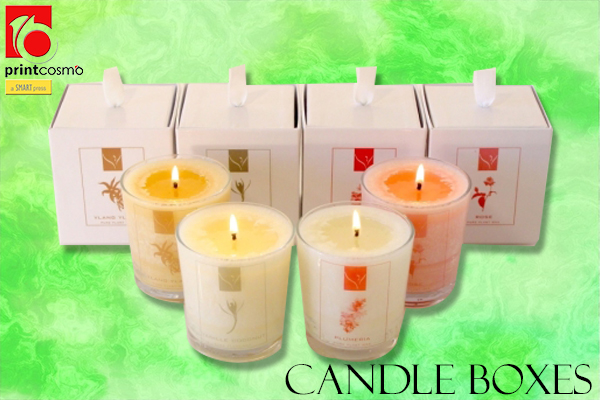 Candle Packaging Boxes and Their Uses at affordable rates now!