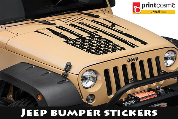 Jeep bumper stickers