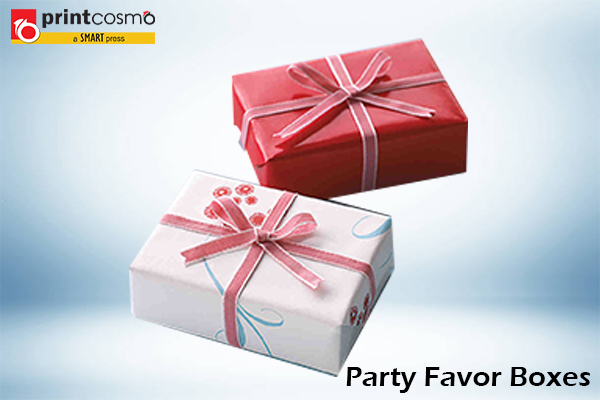 Party Favor Boxes for all Occasions now available with free shipping
