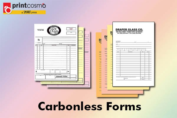 Carbonless Forms: Buy cheap and unique carbonless forms now!