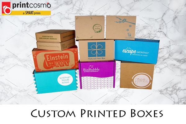 Custom Printed Boxes | 7 Advantages of Custom Printed Boxes