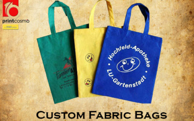 Custom Fabric Bags | Reasons Why You Need To Buy Fabric Tote Bags