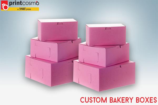 Customize Bakery Boxes