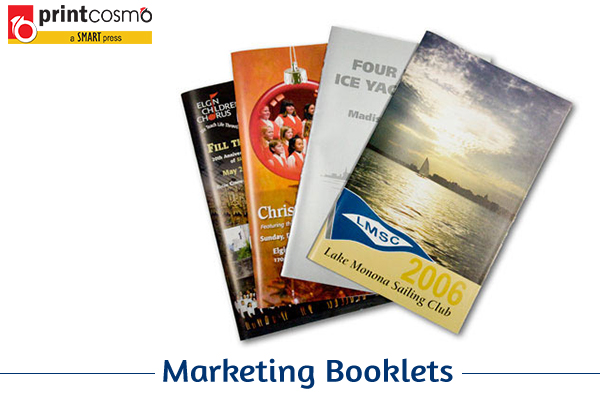 Reaching out to the customer through Marketing Booklets