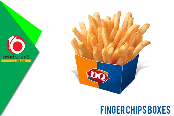 Custom Finger Chips boxes