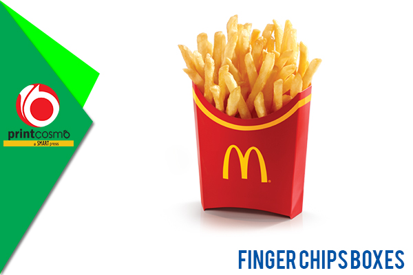 Finger Chips Packaging Boxes