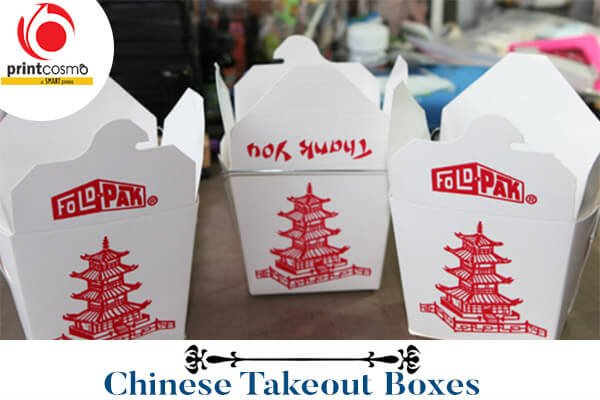Printed Chinese Takeout Boxes