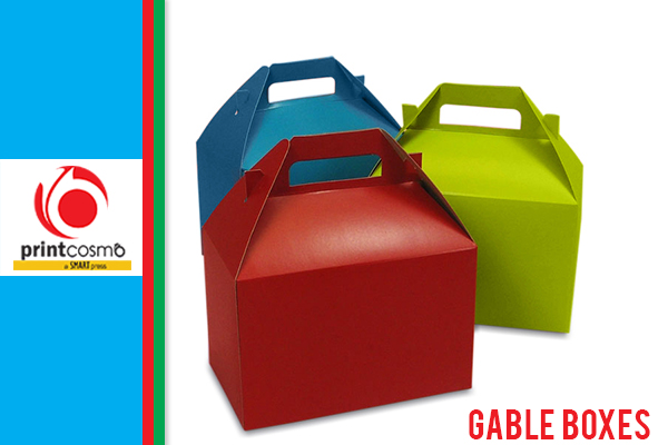 How can custom Gable boxes by Printcosmo helps in Easy-handling of products?