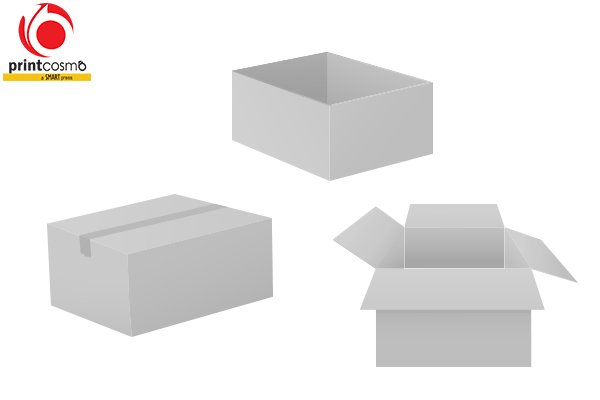 Kraft White Boxes