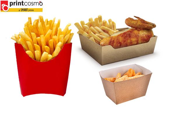 Finger Chips Boxes Wholesale
