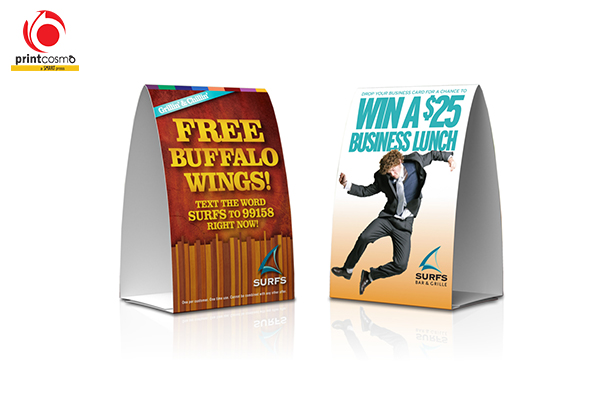 Personalized Table Tents