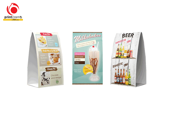 Table Tents Suppliers