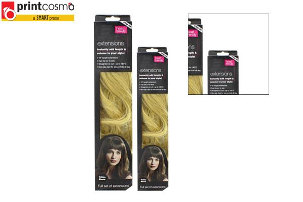 Hangable Hair Extension Boxes