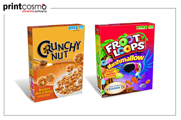 Cereal boxes: Consideration of Important Features While Purchasing