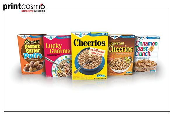 Wholesale cereal boxes