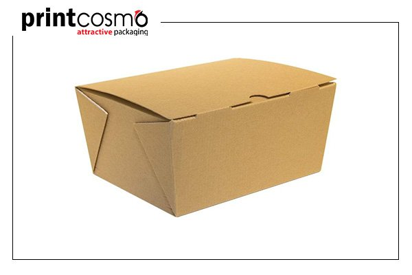Corrugated food boxes