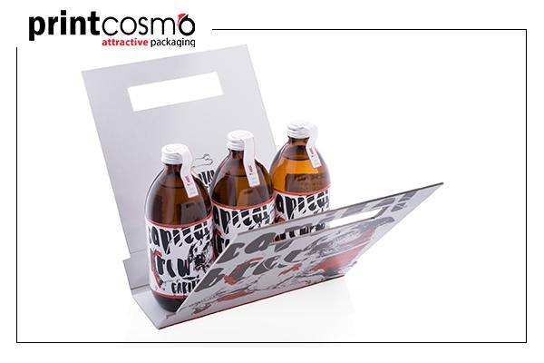Custom packaging bottles
