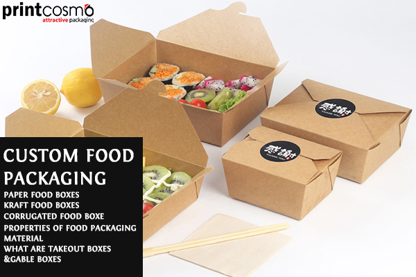 3 Types of Food Boxes that are Perfectly Secure for Food Usages