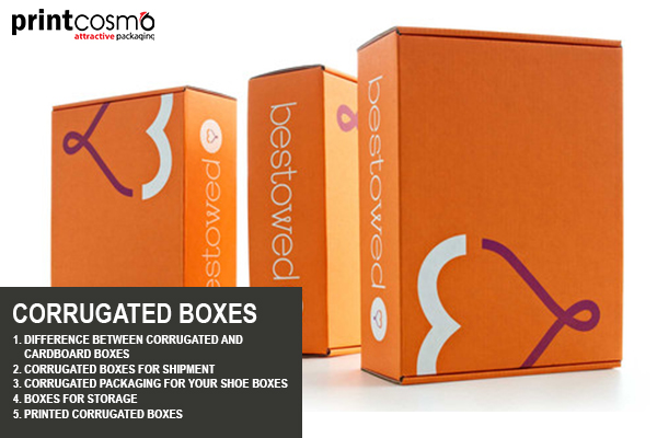 5 Types of Custom Corrugated Boxes for your Business and Home Use
