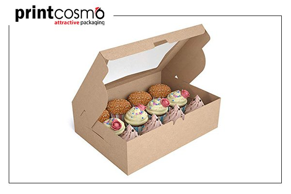 Custom muffin packaging boxes