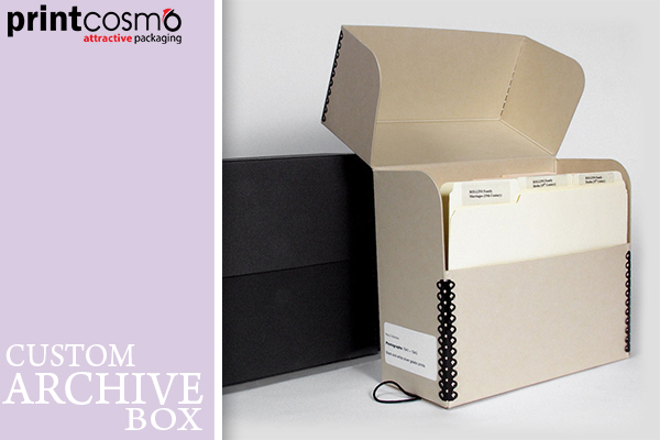 Get The Best Archive Boxes the from Printcosmo in Cheapest Rates