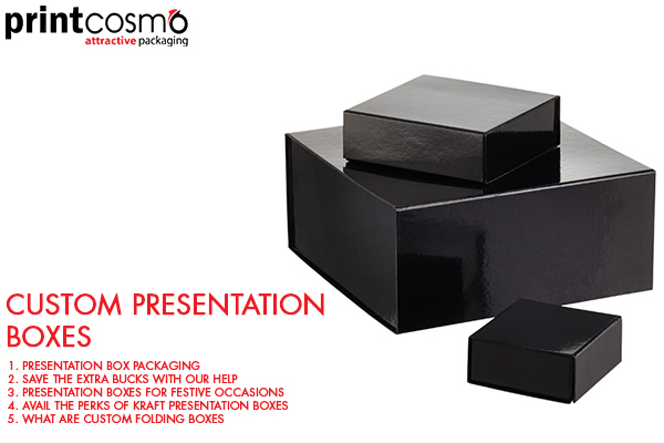 Customize Your Presentation Boxes by Unleashing your Creativity