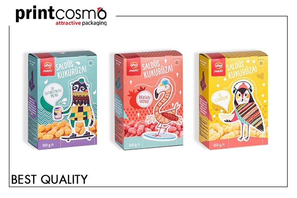 Printed Snack Boxes