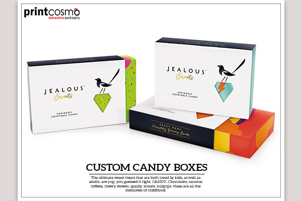 From Where can you find the Best Custom Candy Boxes in the Market