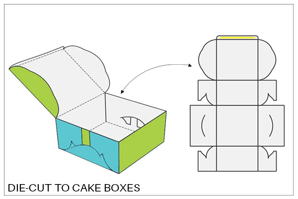 Birthday cake Boxes