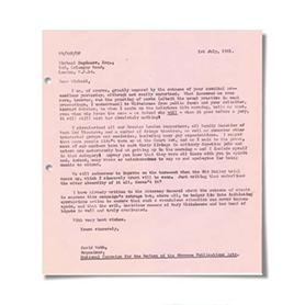 Carbon Copy Letter
