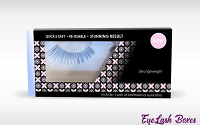 Eyelash Packaging – Get personalized boxes for your makeup products