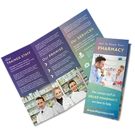 Pharmaceutical Brochures