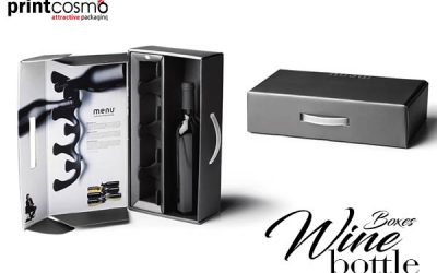 Avail the best Cheap and Premium Wine Boxes offer at Printcosmo