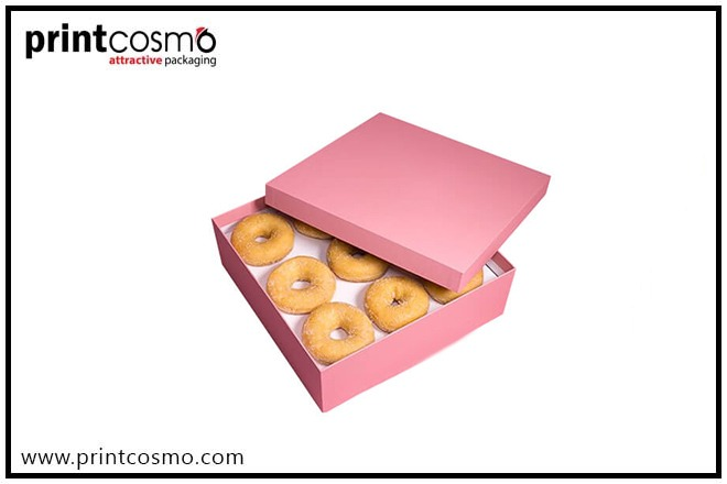 Donut Boxes Wholesale Printing Company | Wholesale Donut Packaging Boxes in USA