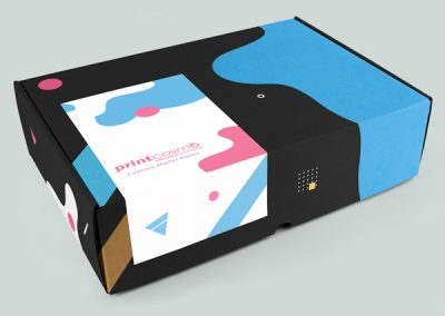 Custom Logo Printed Mailer Box