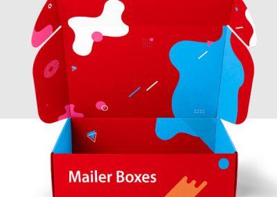 Custom Printed packaging Mailer Boxes
