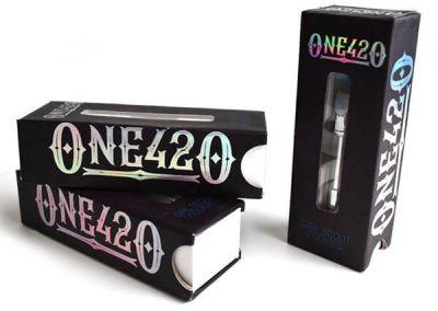 custom vape cartridge packaging