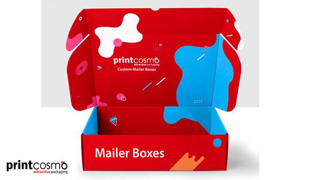 Stylish Custom Printed Mailer Boxes